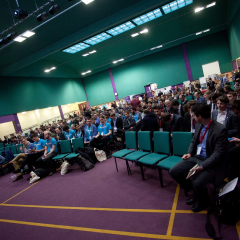 The Kings Centre's Main Conference Auditorium
